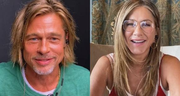 Jennifer Aniston y Brad Pitt «se reencuentran» y enamoran a las redes