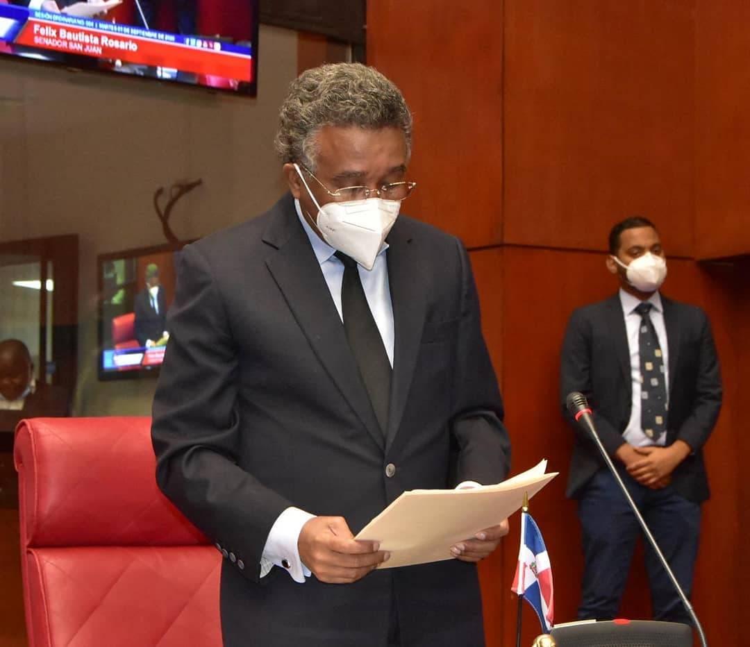 Senador Félix Bautista somete proyecto de Ley para mantenimiento de Obras del Estado
