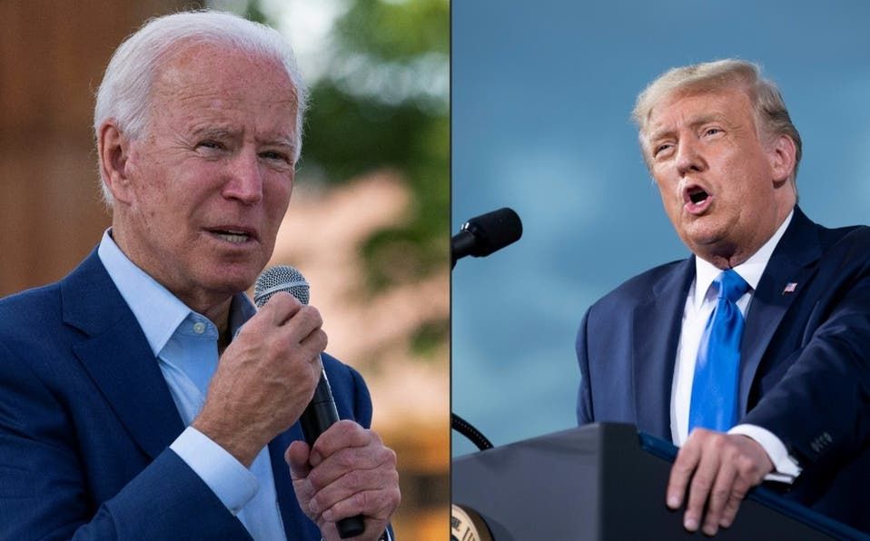 Trump llama «socialista» a Biden al inicio de su primer debate