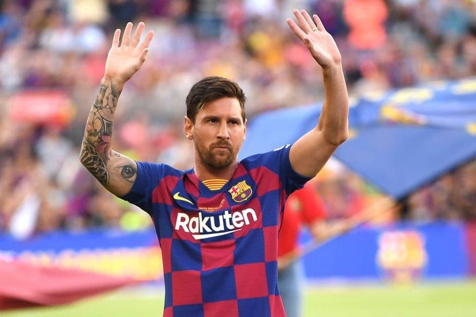 Lionel Messi reapareció en las redes sociales tras anunciar que sigue en el Barcelona