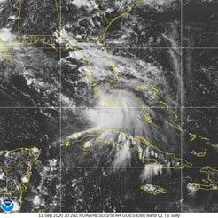 Se forma tormenta tropical Sally al sur de Florida