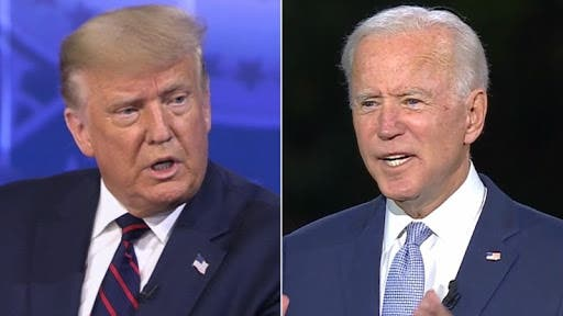 """Donald Trump y Joe Biden preparan su primer cara a cara, un debate """"beligerante»"""