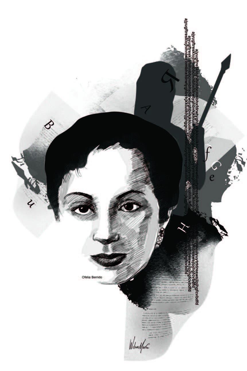 """ANACAONA"" DE OFELIA BERRIDO"