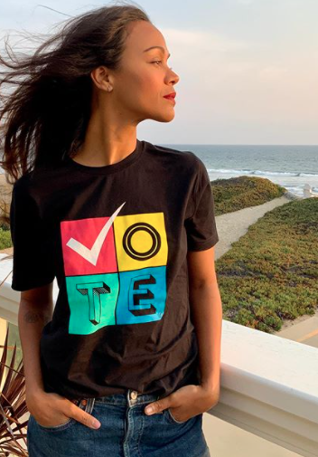 Famosos animan a votar en Estados Unidos