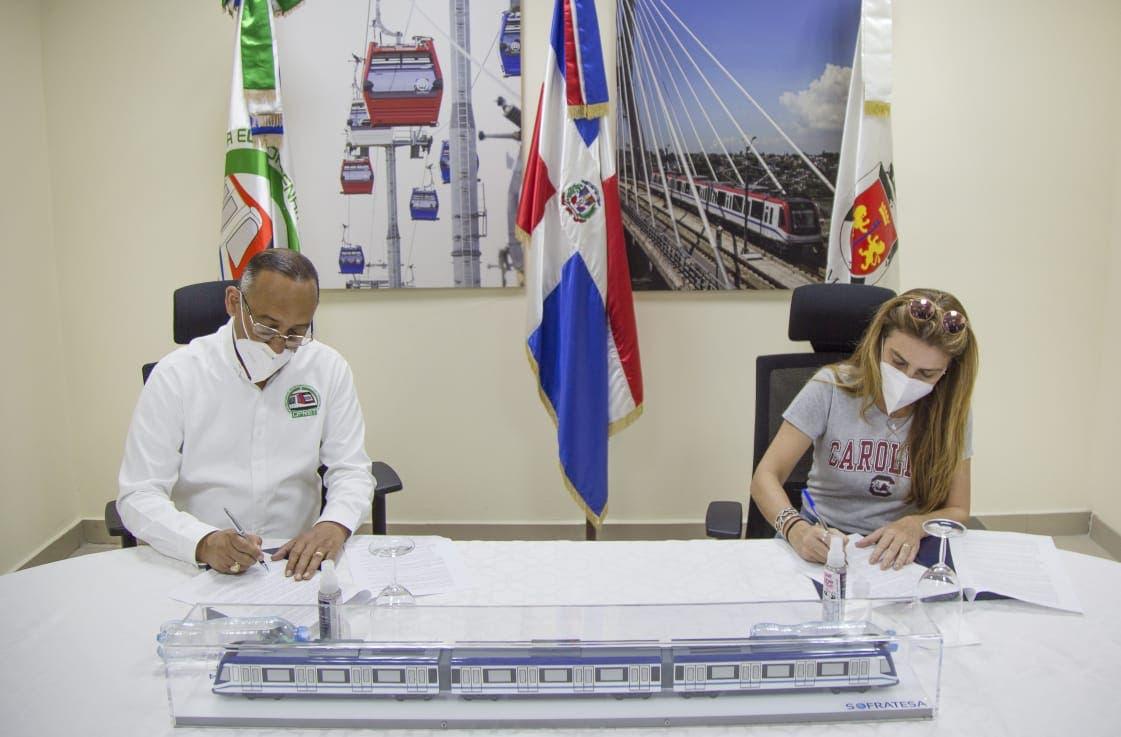Suscriben acuerdo para mejorar la calidad de los servicios del Metro y Teleférico
