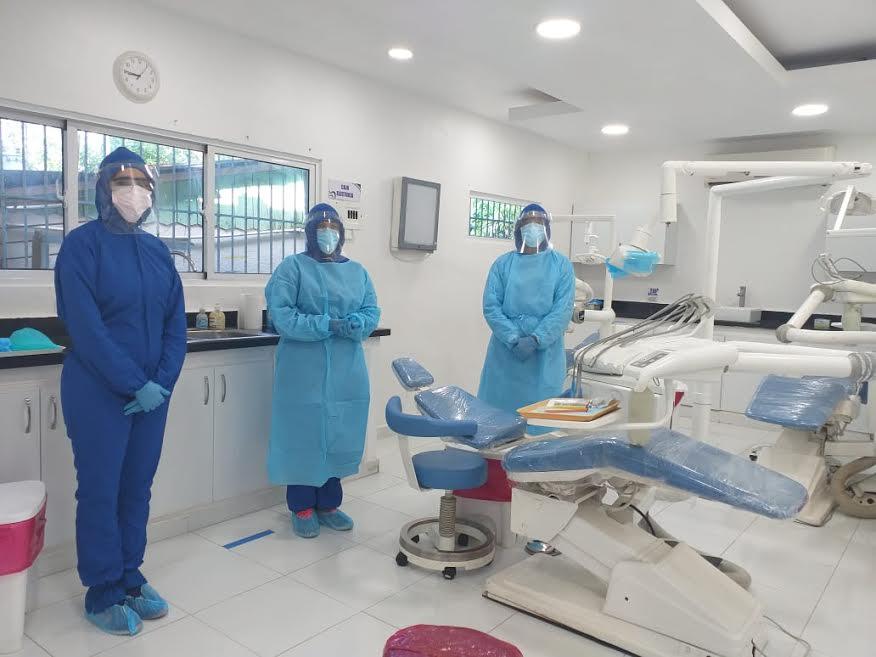Servicio Nacional de Salud evalúa condición de áreas odontológicas