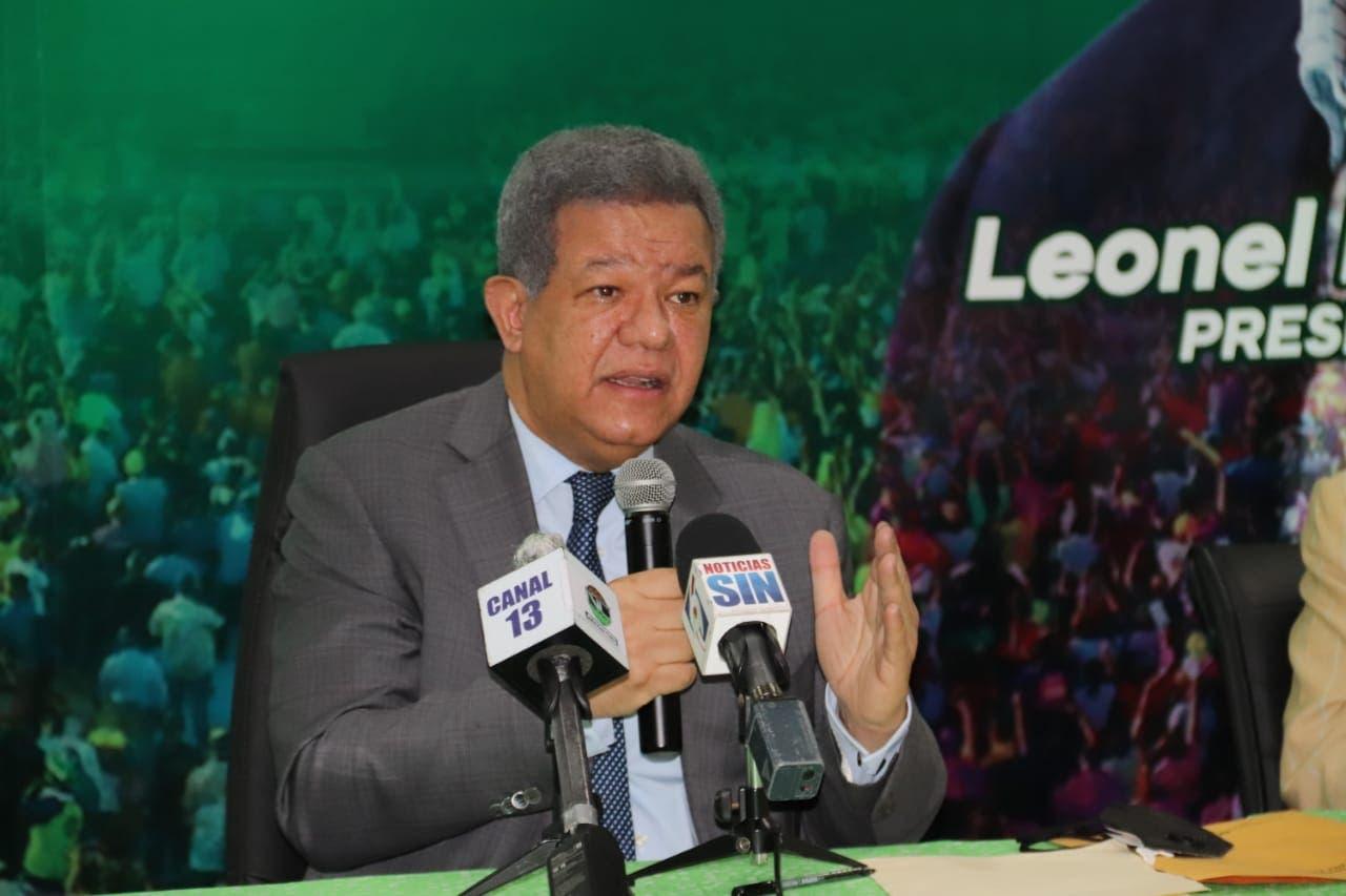 Leonel hace llamado de alerta ante incremento a precios de alimentos básicos