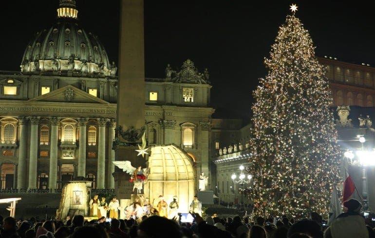 El Vaticano inaugurará su pesebre y su árbol de Navidad el 11 de diciembre