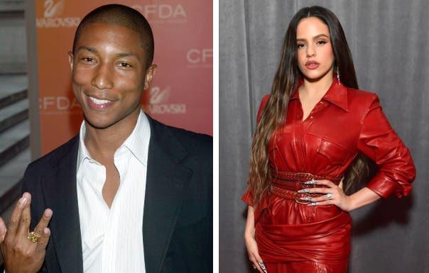 Rosalía y Pharrell Williams buscan impulsar a la mujer latina en la música