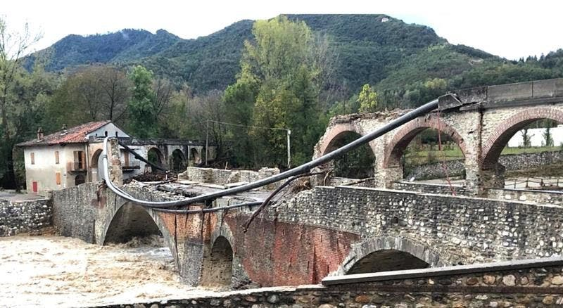 Al menos un muerto y 11 desaparecidos por el mal tiempo en Italia