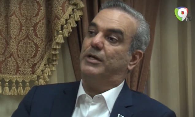 Abinader: Quiero dejar al país la construcción de todos los acueductos