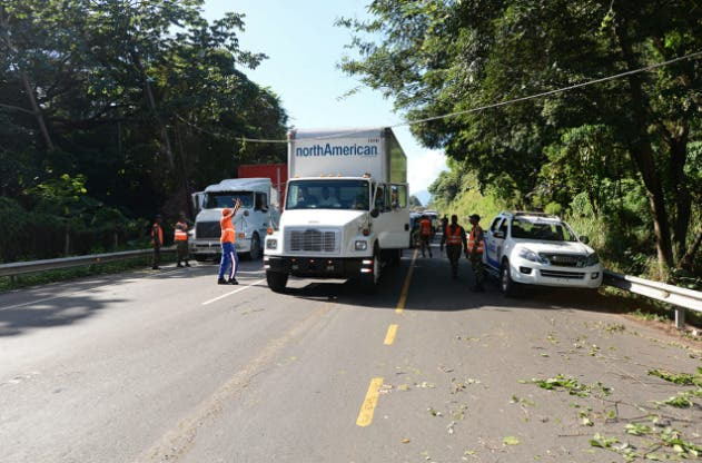 Obras Públicas anuncia reparación de autopista Duarte tras accidentes de tránsito