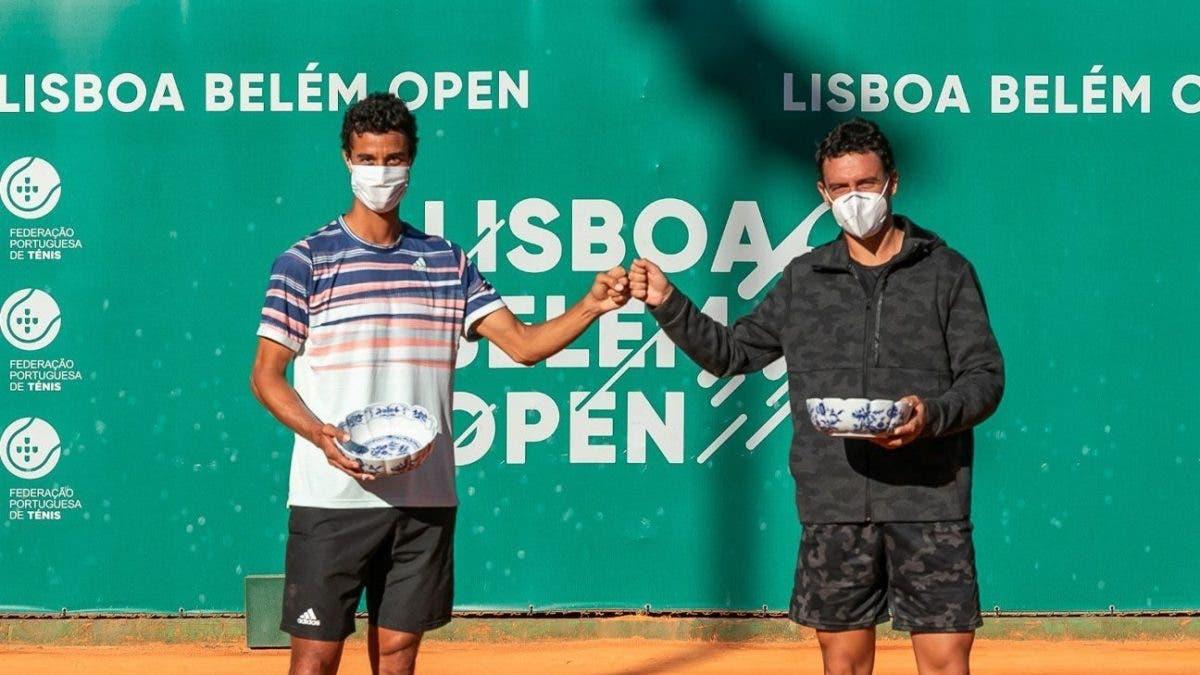 Roberto Cid se convierte en campeón en dobles en el Torneo Circuito ATP