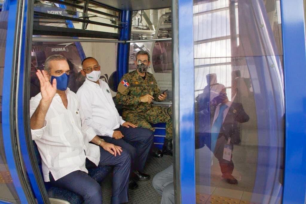 Luis Abinader anuncia ampliación del Metro y construcción de Teleférico