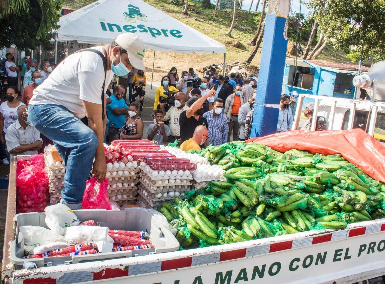 INESPRE llevará bodegas móviles a sectores populares de Santiago