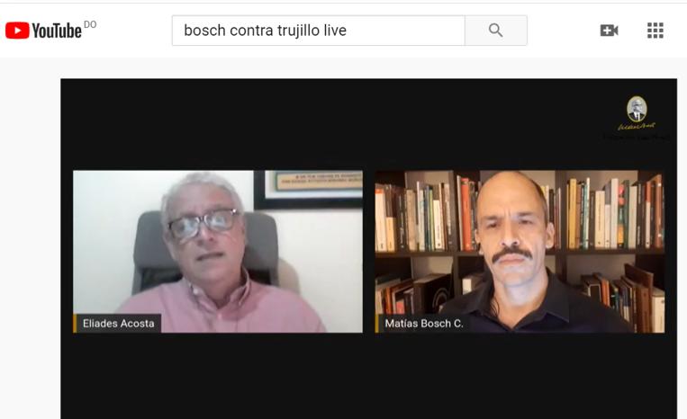 "Eliades Acosta presenta obra ""Bosch contra Trujillo"""