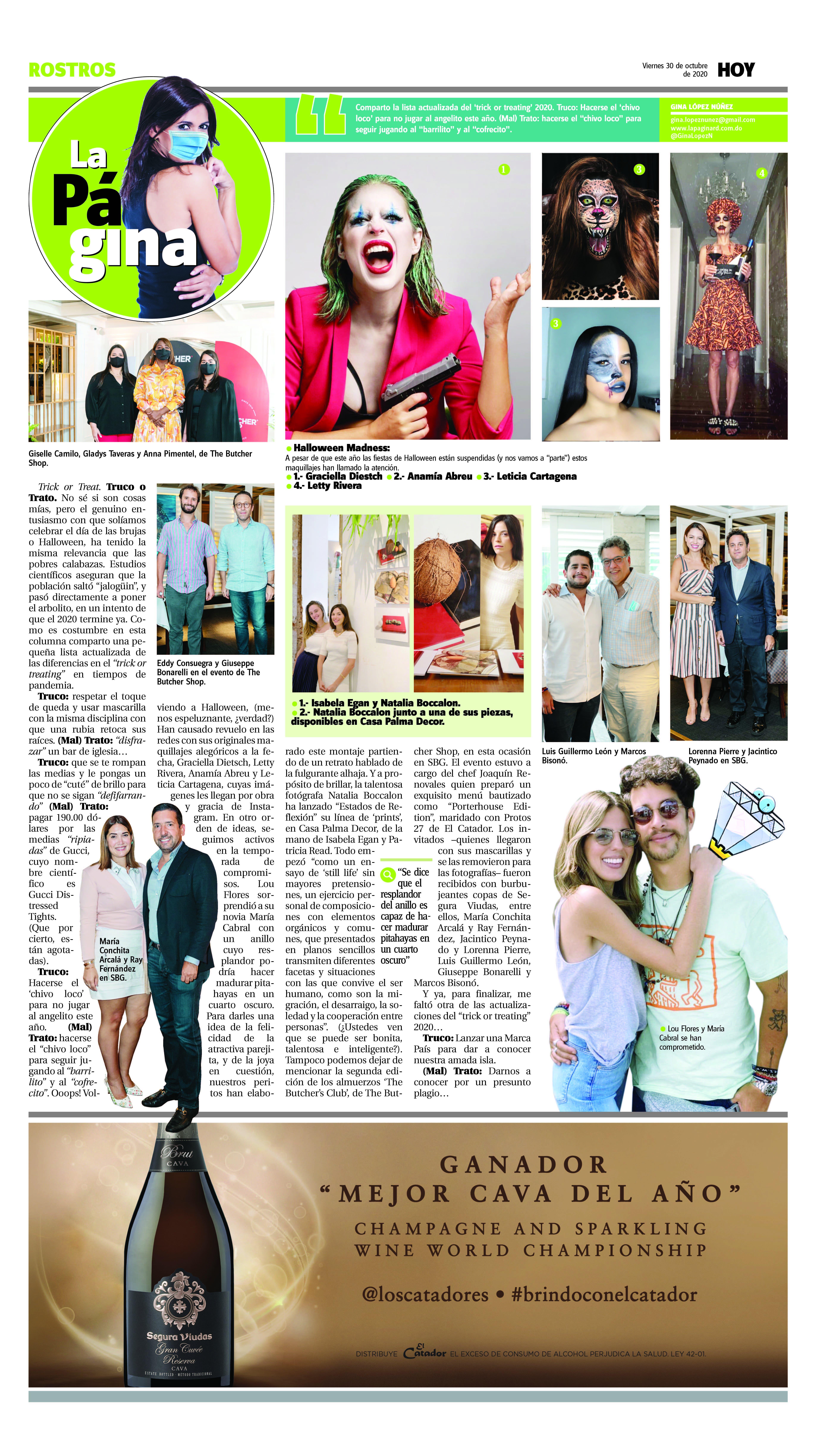 La Página. Viernes 30 de octubre