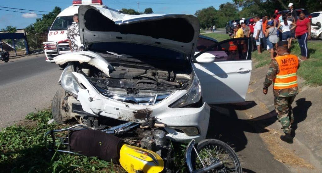 Santo Domingo ocupa primer lugar entre provincias con más muertes por accidentes de tránsito