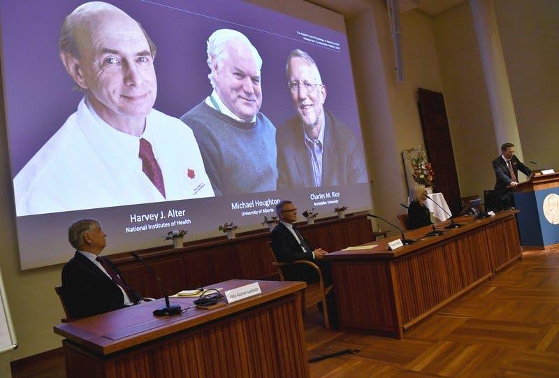 El Nobel de medicina premia el hallazgo del virus de la hepatitis C