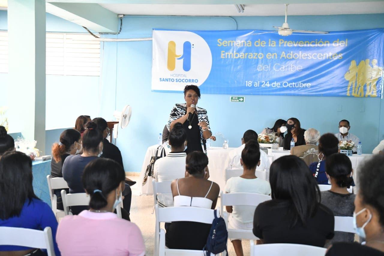 HMISS celebra con charla semana para Prevención del Embarazo en Adolescentes en el Caribe
