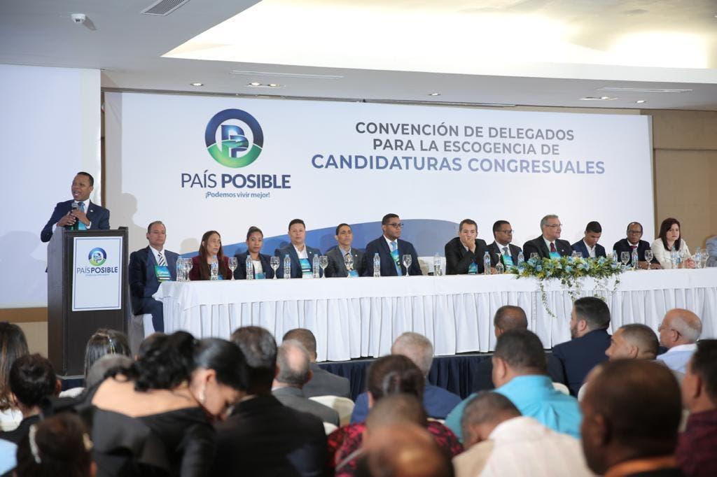 País Posible respalda propuesta de Luis Abinader de reducir 50% de fundos a partidos