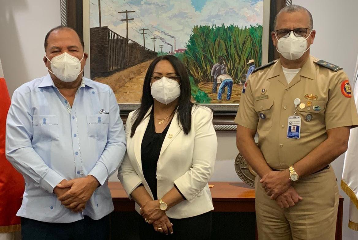 Diputada Servia Iris Familia gestiona recuperación terrenos invadidos en RD