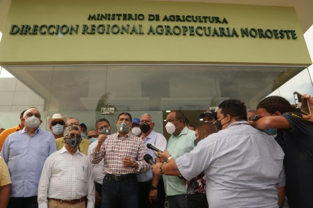Gobierno paga 150 MM a productores agropecuarios de línea Noroeste