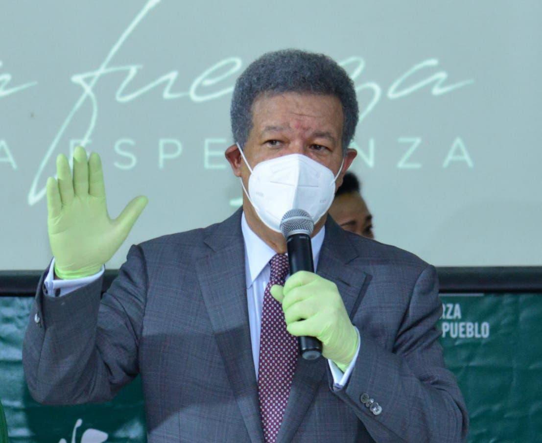 Leonel Fernández juramentará este domingo autoridades electas y otros dirigentes