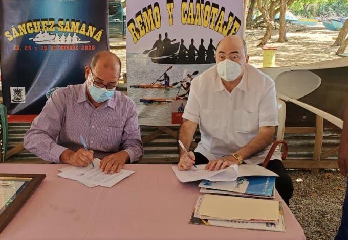 Remo y Canotaje firma acuerdo de cooperación con la Alcaldía de Sánchez