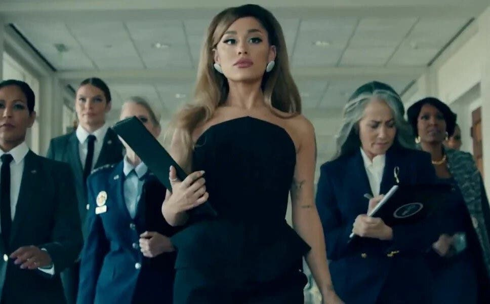 Ariana Grande ocupa la Casa Blanca de Donald Trump en su nuevo tema, «Positions»