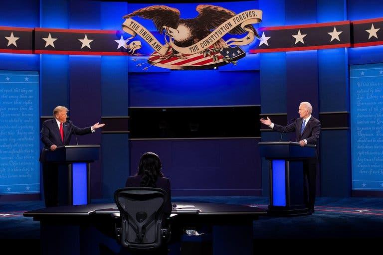 Trump vs Biden ¿Quién ganó el último debate presidencial en EEUU?