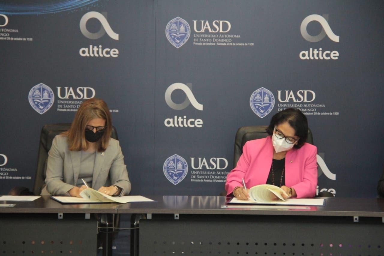 Altice pondrá a disposición de estudiantes y personal de la UASD planes con precios y atributos especiales
