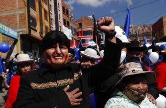 Partido de Morales continúa en carrera electoral en Bolivia
