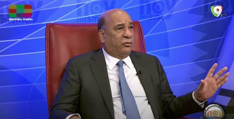 Bautista Rojas Gómez explica fase elección de los nuevos miembros de la JCE