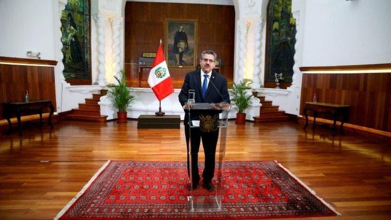 Renuncia Manuel Merino: ¿y ahora qué va a pasar en Perú?