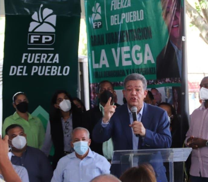 Leonel afirma FP se posiciona principal fuerza de oposición