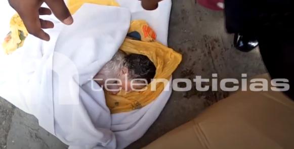 Estable se encuentra bebé abandonada en tanque de basura en San Cristóbal
