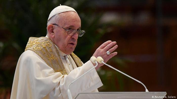 El papa pide mayor sobriedad y atención a los vecinos en tiempo de pandemia