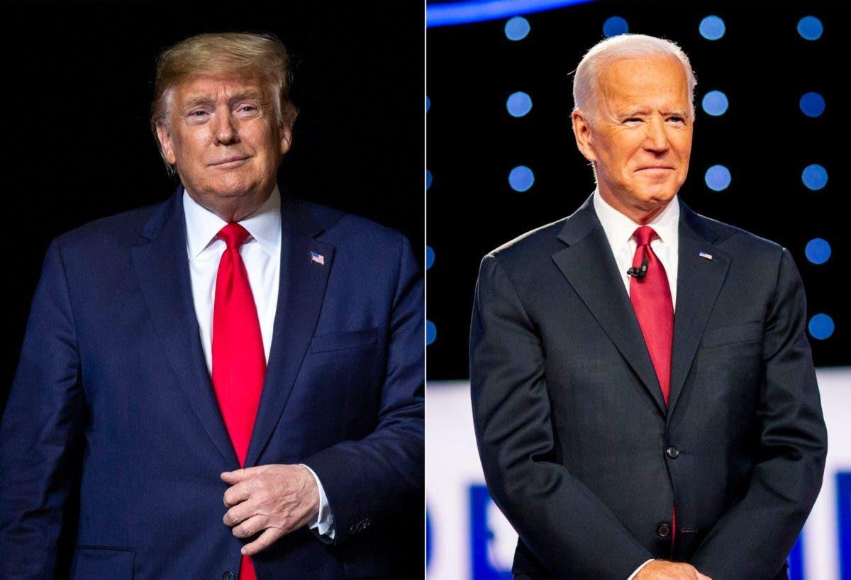 Biden lleva la delantera con 117, Trump 89