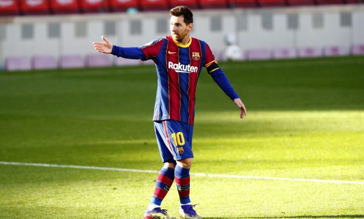 """Los tribunales, sobre fichaje de Messi- una """"cuestión de horas"""", dice letrado"""