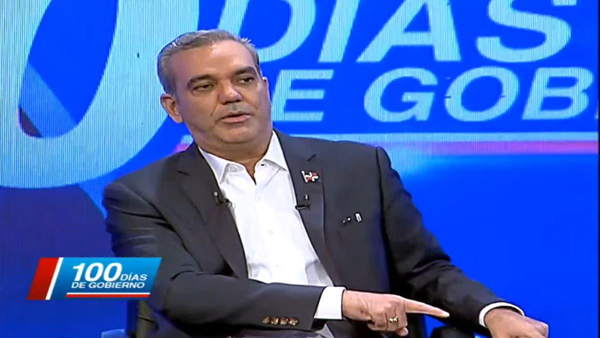 Presidente Luis Abinader revela qué trató delegación dominicana en visita a Haití