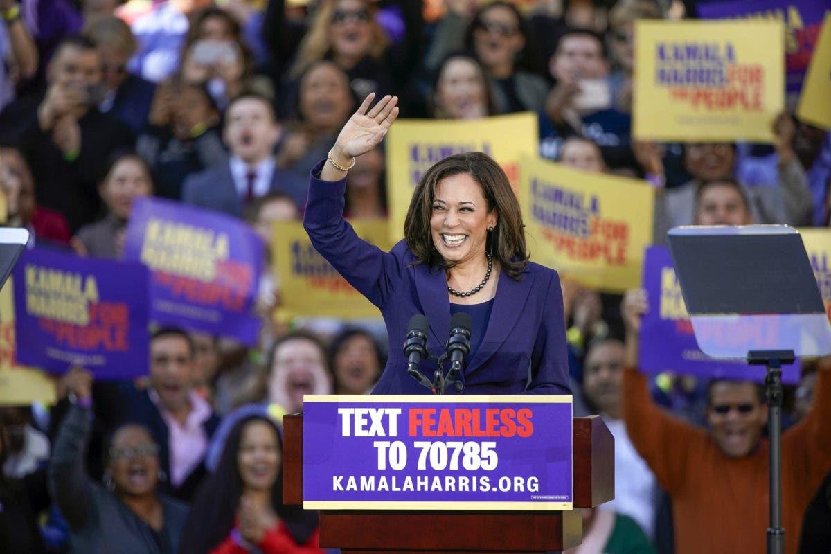 Kamala Harris hace historia y será la primera mujer vicepresidenta de EE. UU.