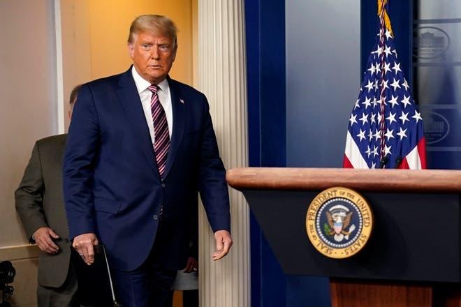 Donald Trump rechaza resultados elecciones Estados Unidos  y transición