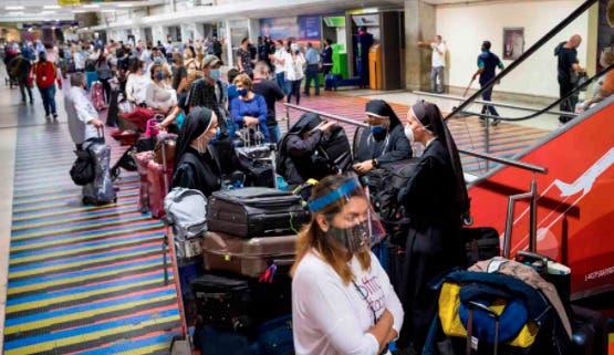 Venezuela no recibirá vuelos, excepto los de RD y otros cuatro países