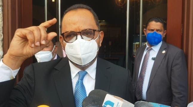 La posición del consultor jurídico del PE a propósito de caso senador Montecristi