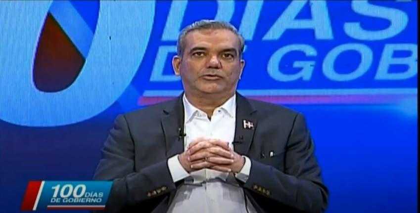 Luis Abinader anunció creación de un plan para combatir la criminalidad