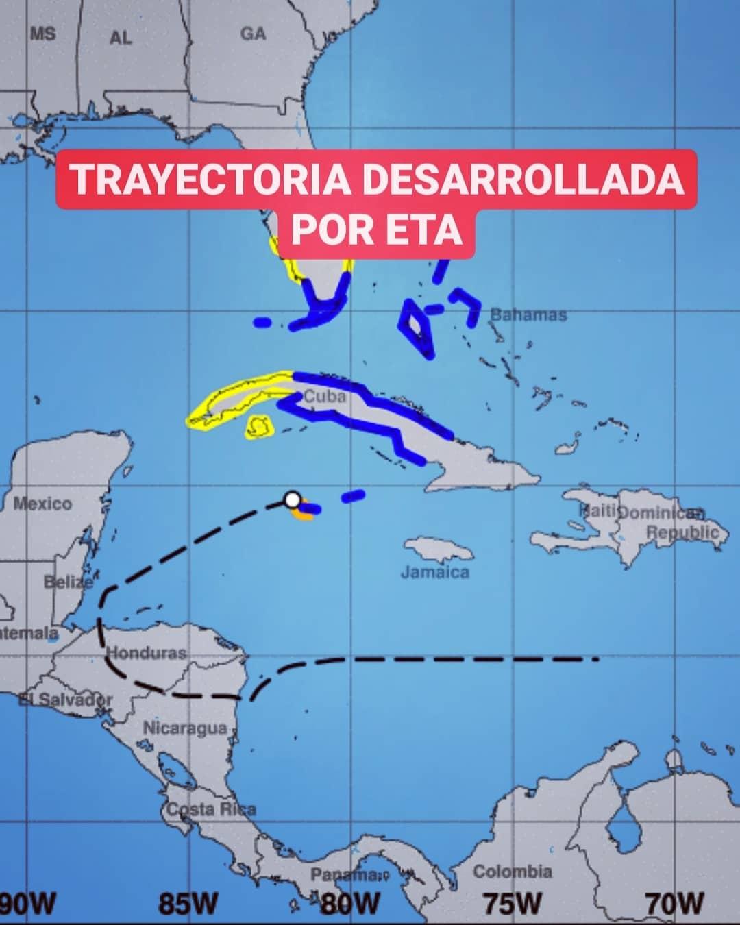 COE amplía nivel alerta verde a 9 provincias debido a tormenta tropical Eta
