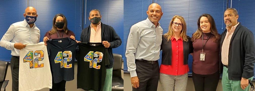 Empresa capital dominicano en NYC y exlanzador Mariano Rivera unidos en obras sociales