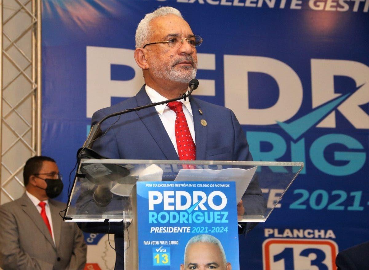 Lanza candidatura Pedro Rodríguez Montero a la presidencia del Colegio de Abogados