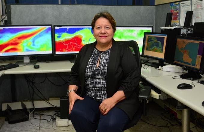 Gloria Ceballos, directora de la ONAMET tiene coronavirus